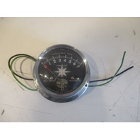 """Vintage AIRGUIDE Marine Boat Tach Tachometer Two Wire 7000 7K RPM 4"""""""