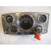 "Vintage Mercruiser Stern Drive Dash Panel Gauge Cluster Set 10 3/4"" x 5 1/4"""