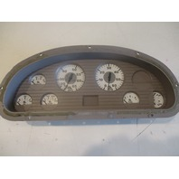 Marine Boat Dash Board Gauge Panel Cluster Set Faria White
