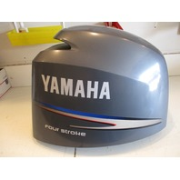 Yamaha Marine Outboard Motor Cover Cowl 150 Four Stroke Fuel Injection Scratched