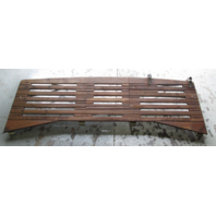 "Marine Boat Stern Drive Large Teak Swim Platform 81"" x 20"" With Step"