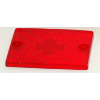 3337 Wesbar Boat Trailer Red Side Marker Replacement Lens w/Reflector