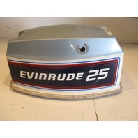 0281572 Evinrude Johnson Outboard Top Engine Motor Cowl Cover 1981 25 HP