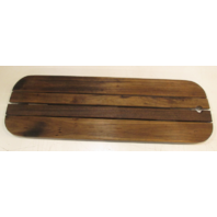 Boat Floor Decking Hatch Teak Wood 35.5 x 11.75 in