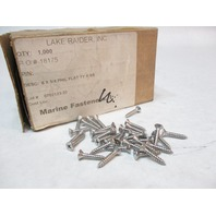 "#6 x 3/4""  Philips Stainless Steel Flat Head Sheet Metal Screw (1000 Qty)"