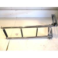 """Marine Boat 3 Step Stainless Steel Telescoping Under Platform Ladder 33.5"""""""