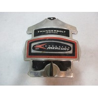 """Mercury Mariner Outboard Red Decal Chrome Front Cowling Cover 9.75"""" x 9.25"""""""