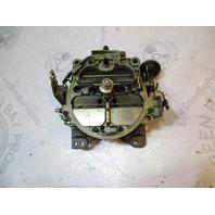 982223 OMC Chevy GM Rochester Stern Drive V8 Carb 4 Barrel Carburetor 17059286