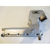 982680 910144 OMC Stringer Stern Drive Chevy GM V8 Port Exhaust Manifold & Riser