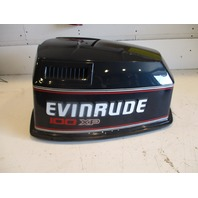 0283712 Evinrude Johnson Outboard V4 Top Engine Cover Cowl 100 XP 1989-1991