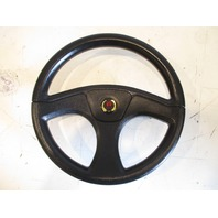 "Teleflex Marine Boat Steering Wheel Tapered Shaft Half Moon Key 12 3/4"" Black"