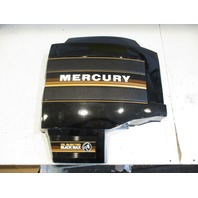 Mercury Black Max Outboard STBD Right Side Clam Shell Cowl Cover Black Brown