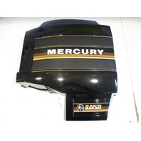 Mercury Black Max Outboard Port Left Side Clam Shell Cowl Cover Black Brown
