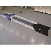 1989 Bayliner Capri Driver & Passenger Interior SIDE Wall Cushion Panels