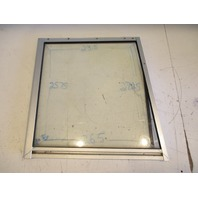Right Starboard Front Window for 95 Bayliner Capri 1950 Windshield 27.25 x 26.5