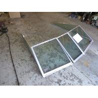 1990 Sea Ray 180 Bowrider 18' Boat Walk Through Windshield Window Glass