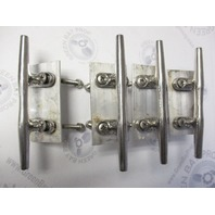 "Sea Ray 180 6"" Boat Cleat Stainless Steel (Set of 4)"