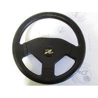 "Sea Ray 180 Boat Steering Wheel 13"" Black Plastic"