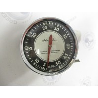 Vintage AIRGUIDE Marine Boat Speedometer MPH 50MPH