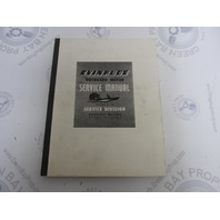 1954-1960 Evinrude Outboard Motor Service Manual 5th Edition