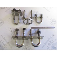 Assorted Stainless Steel Marine Back of Boat Ski Tow Rope Hook Tie Downs