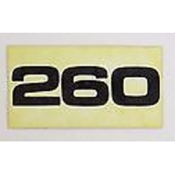 37-79411 Mercury Mercruiser 260 Stern Drive Upper Unit Decal 260 Decal ONLY