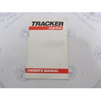 Tracker Bass Tracker Bass Buggy Pontoon Boat Owner's Manual