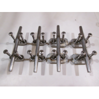 """1993 Four Winns 190 Horizon LE 6"""" Boat Cleat Stainless Steel (Set of 4)"""