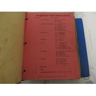 Vintage 1970-71 MerCruiser Stern Drive Service Manual Binder