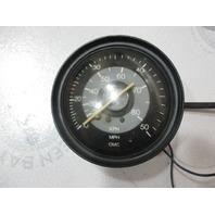 """122995 Vintage OMC Marine Boat Gauge Speedometer 50 MPH 80 KPH 4 1/4"""""""