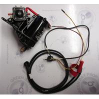 0392133 0327730 Evinrude Johnson Outboard Electric Starter & Bracket Kit 25-35HP
