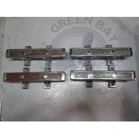 """1980 Cruiser Beachcomber 6"""" Boat Cleat Stainless Steel (Set of 4)"""