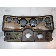 1980 Cruiser Beachcomber Boat Dash Panel with Gauges