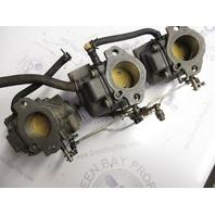 0382316 0382317 Complete Carburetor Assembly Johnson Evinrude 1968 55HP