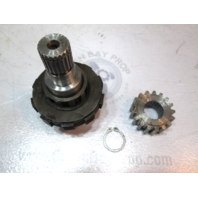 314651 Tilt Clutches Shaft & Quadrant Gear for OMC Stringer Intermediate 1969-81