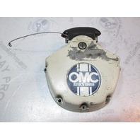 0980758 OMC Stringer Upper Gearcase Exhaust Housing Cover