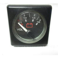 Bayliner Arriva Capri Square Volt Voltage Gauge Mercruiser 1980s-90s