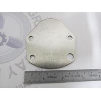 CU-CUE 12M OMC Stringer Stern Drive Port Pivot Cap Cover Plate 110HP