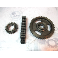 0913725 OMC Cobra 5.0L 5.8L Ford V8 Timing Chain & Sprocket Set 0986094 0913734