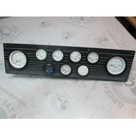 """1991 Forester 190 Sport Boat Dash Panel Gauges Instrument Cluster 23"""" x 5.75"""""""