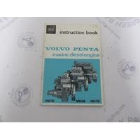 2492A Volvo Marine Diesel MD1 MD2B MD3B Owner's Instruction Book 1971