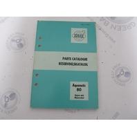 1130B Volvo Penta Parts Catalog Aquamatic 80 Engine Unit