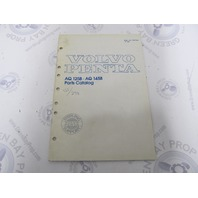 7793730-8 Volvo Penta Parts Catalog Aquamatic 125B 145B 1984