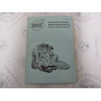 2668 Volvo Penta Service Workshop Manual MD1B-3B Marine Diesel Engines 1972