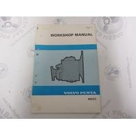 4158 Volvo Penta Service Workshop Manual MS3C 1982