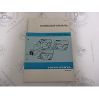 5046 Volvo Penta Service Workshop Manual AQAD30A TMD30A Engine Unit 1983