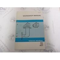 5295 Volvo Penta Service Workshop Manual MS2 120S MS2V 1984