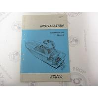 5302 Volvo Penta Installation Manual Aquamatic 290 General 1984