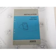 5303 Volvo Penta Installation Manual Aquamatic Transom Shield 1984