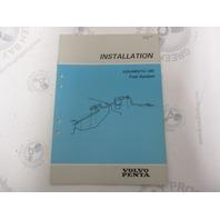 5305 Volvo Penta Installation Manual Aquamatic 290 Fuel System 1984